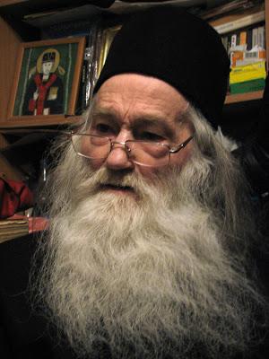 Parintele Iustin Parvu Manastirea Petru Voda