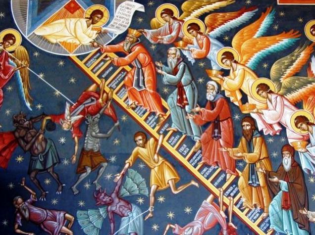 Treptele-scarii-Sf-Ioan-Scararul-icoana